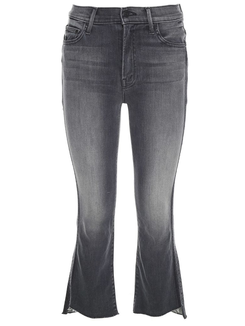 THE INSIDER CROPPED STEP FRAY JEANS