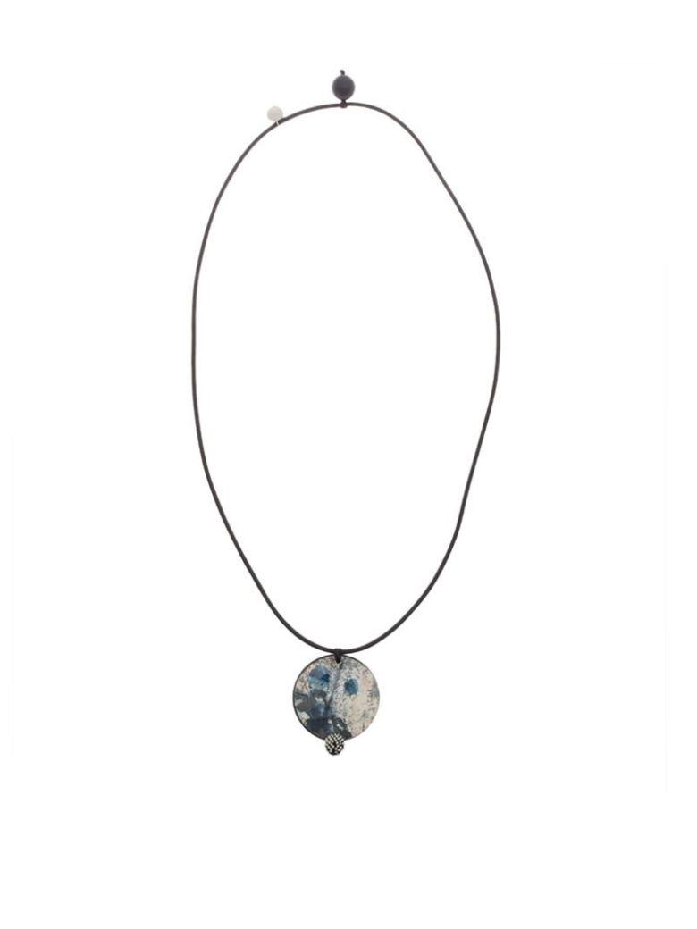 MARIA CALDERARA - Necklace in Blue