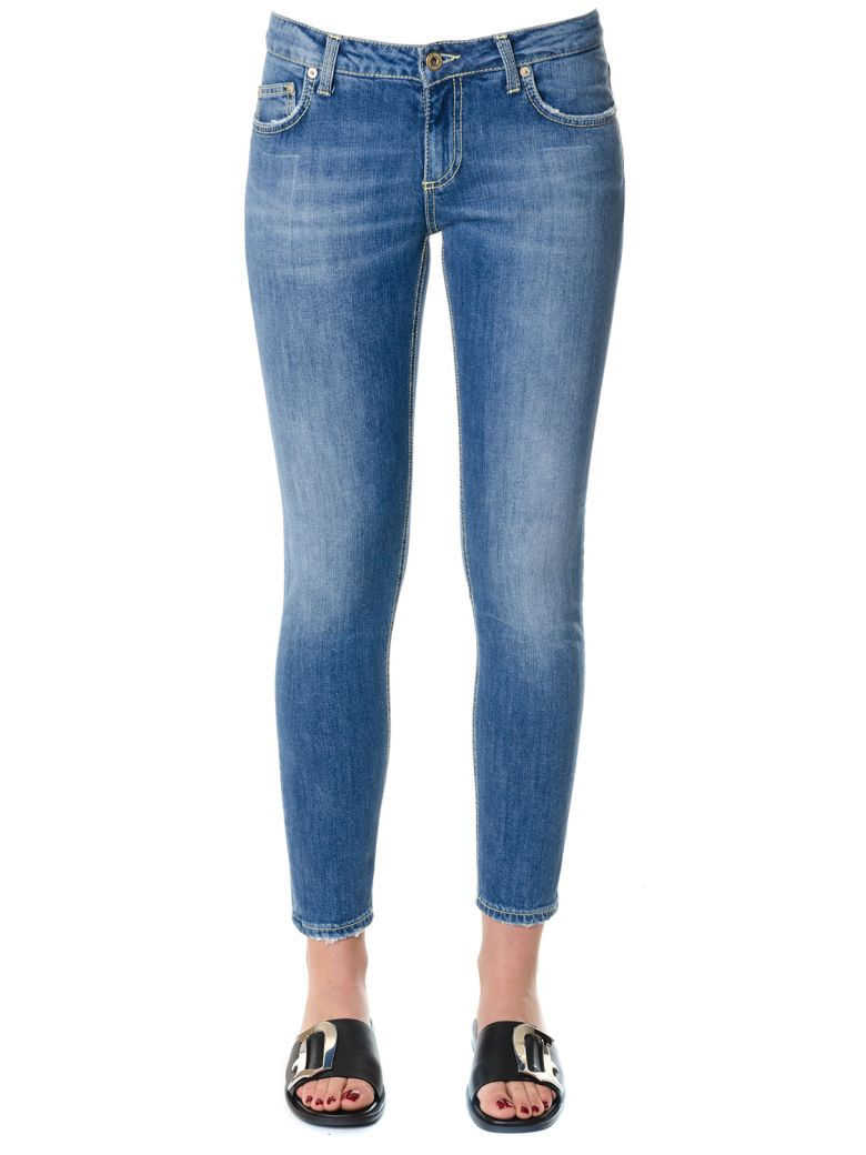 SKINNY FIT STRETCH COTTON JEANS