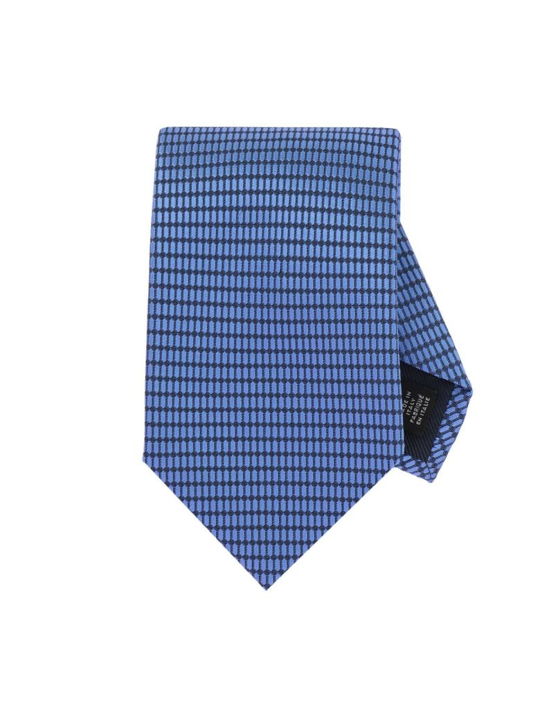 43b7bd59 Tie Tie Men Ermenegildo Zegna, Gnawed Blue