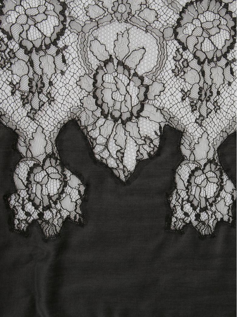 Silk Lace Plisse Shawl