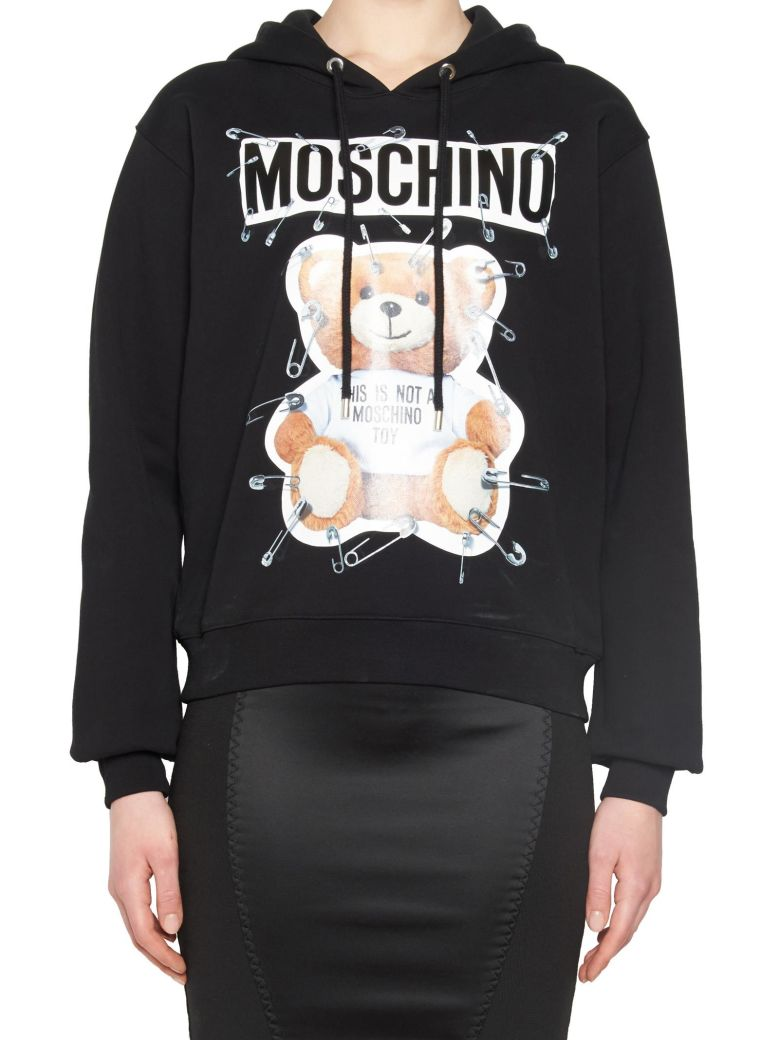 Moschino Cottons 'TEDDY PIN' HOODIE
