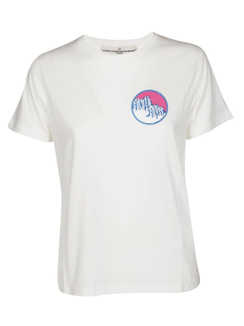 Golden Goose Embroidered T-shirt - White