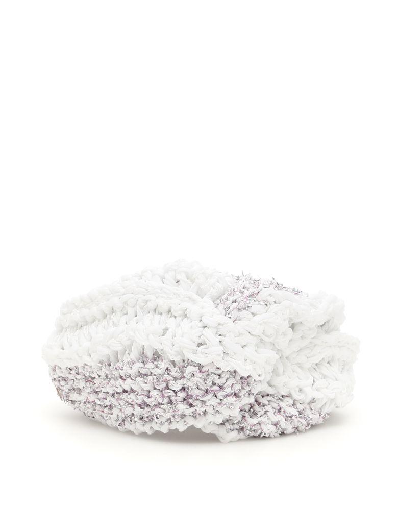 FLAPPER Vega Turban in White Violet