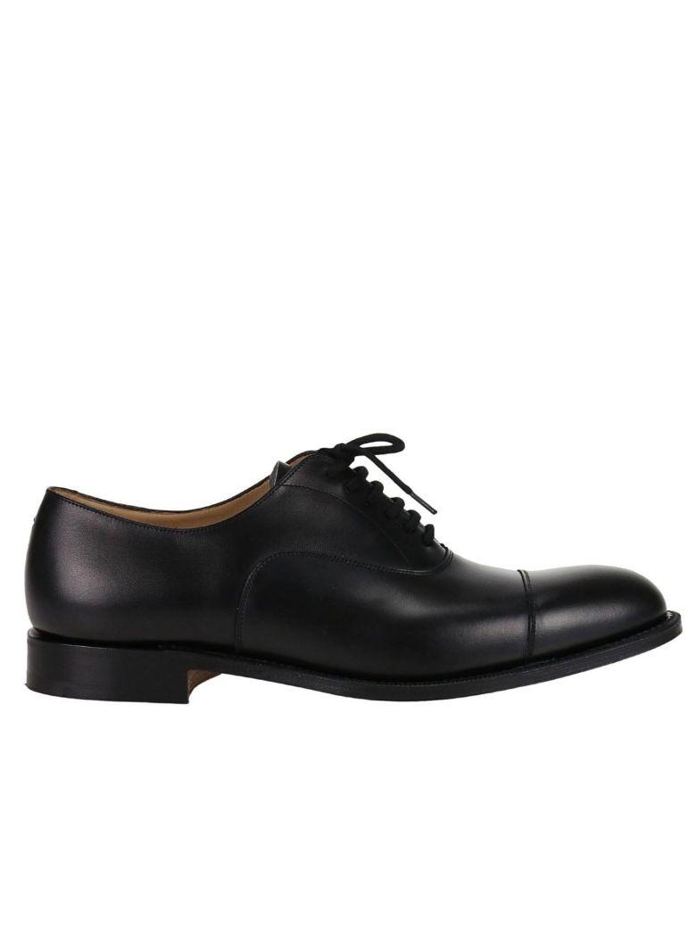 CHURCH'S Brogue Shoes Dubai Oxford With Goodyear Processing, Black