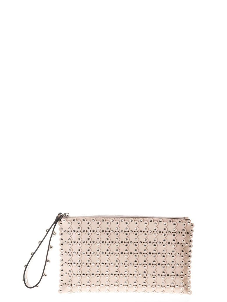 PUZZLE NUDE LEATHER BAG