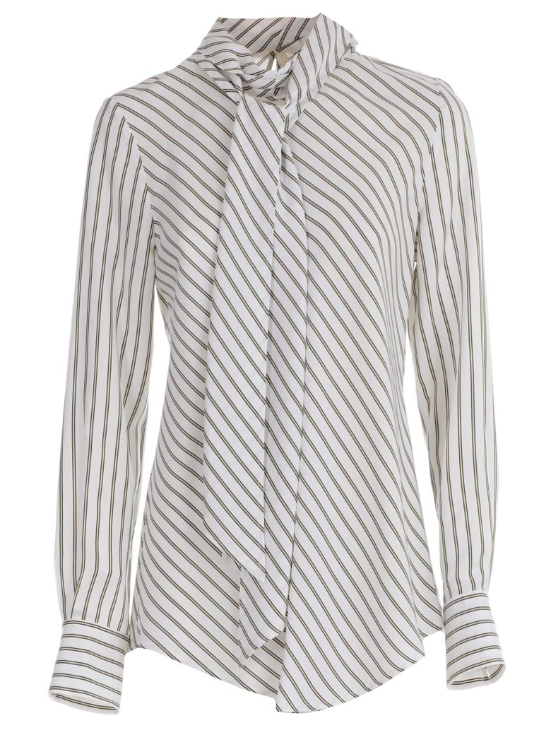 SEE BY CHLOÉ ASCOT-TIE BLOUSE