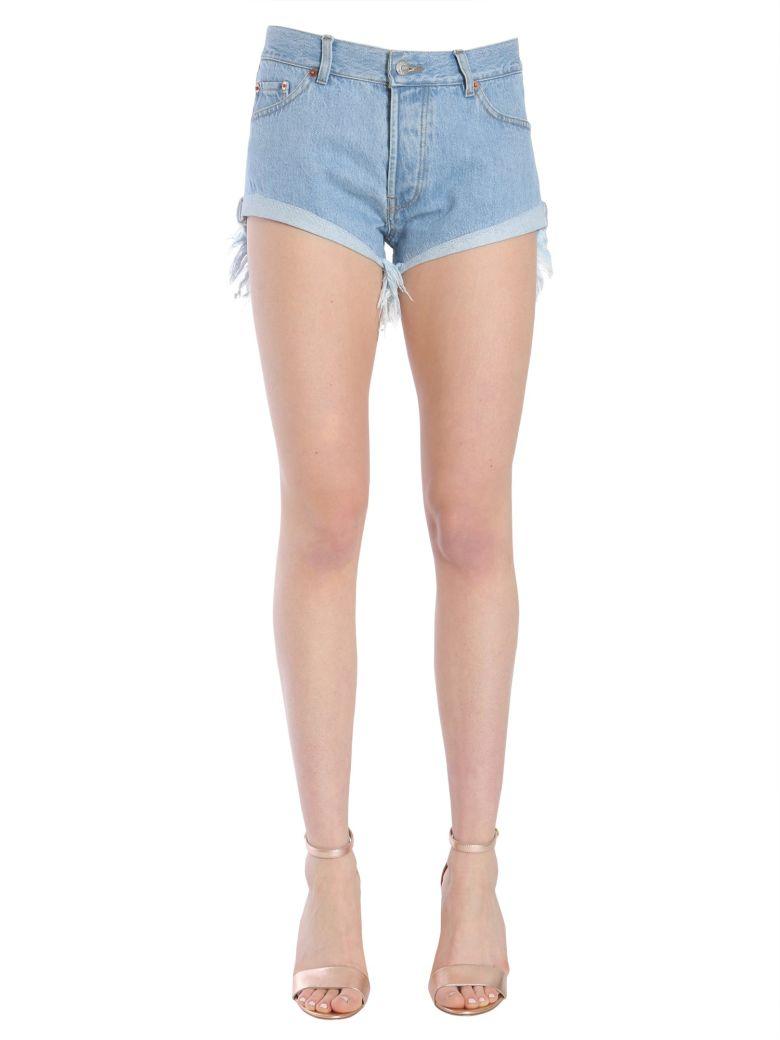 "FORTE COUTURE ""Zig Zag"" Shorts in Denim"