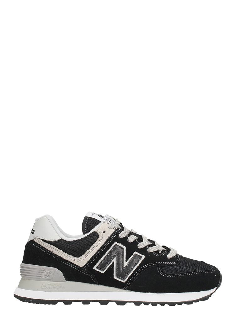 FREE TIME BLACK SUEDE SNEAKERS