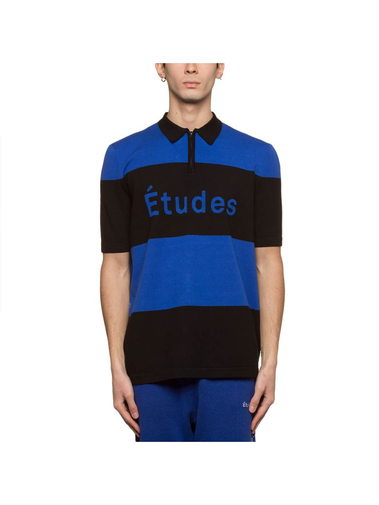 ETUDES STUDIO Études Stadium Polo Shirt - Blue