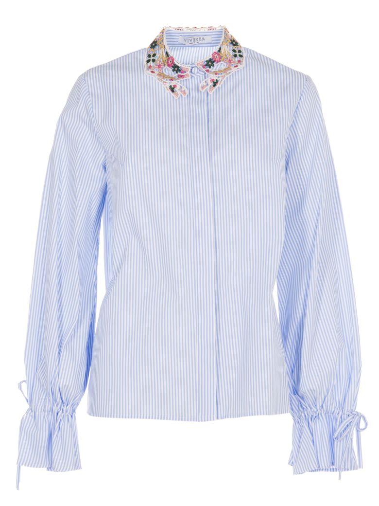 Striped Shirt, Azzurro