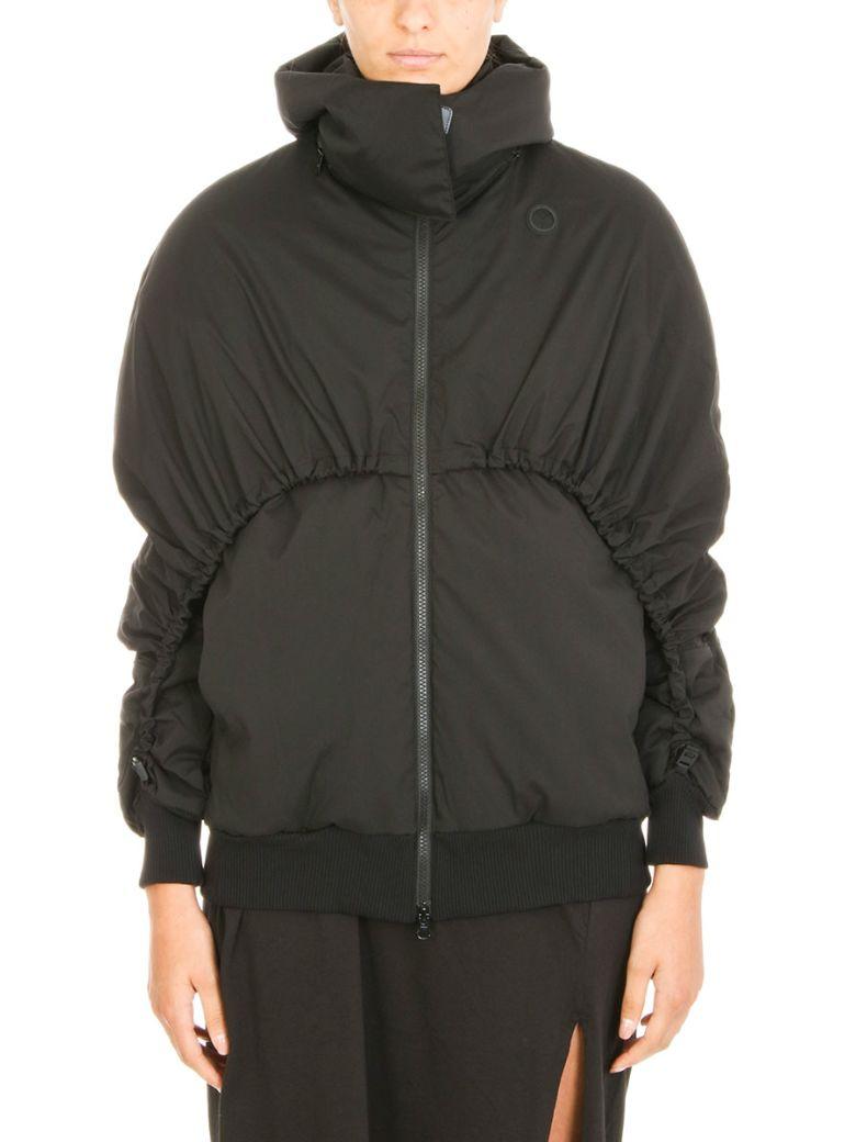 Detachable hood down jacket