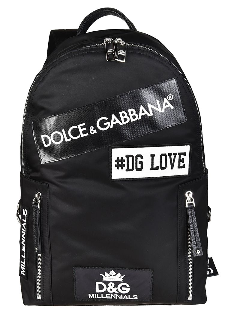 Dolce & Gabbana Canvases PATCH BACKPACK