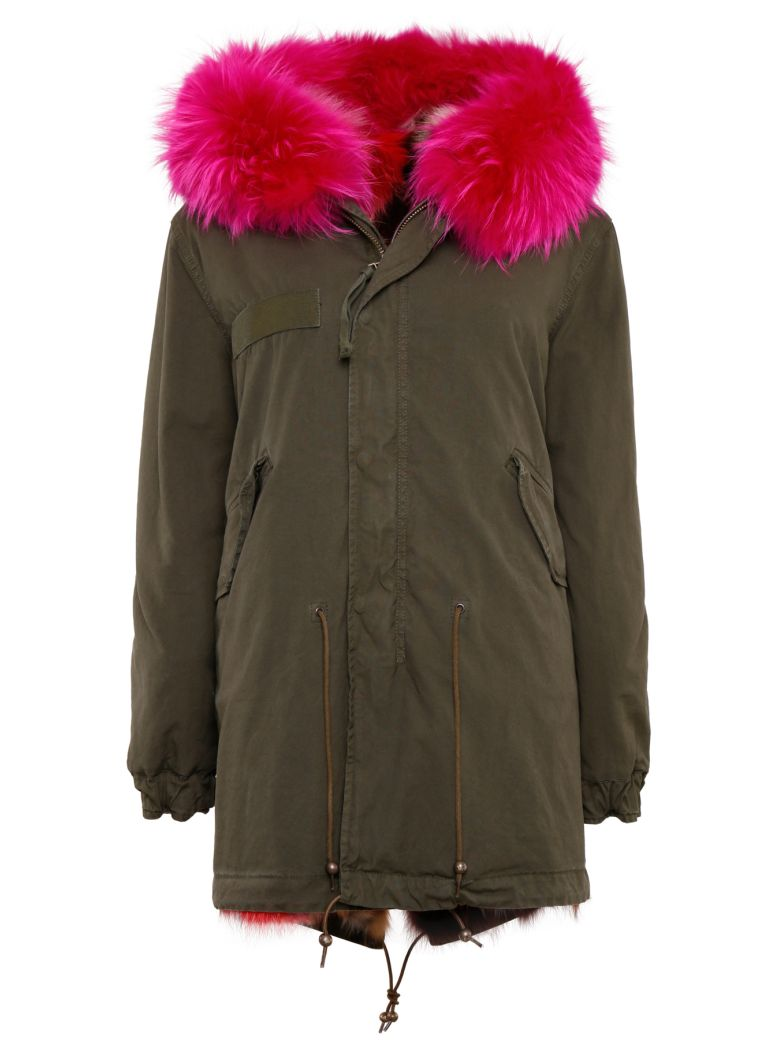 LONG PARKA WITH FUR