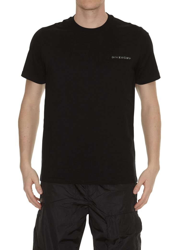 Givenchy Cottons LOGO DETAIL T-SHIRT