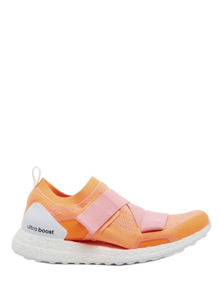 sports shoes 89d1b a4e9c Adidas By Stella Mccartney Adidas X Stella Mccartney Ultraboost X Orange  Primeknit Trainers In Yellow