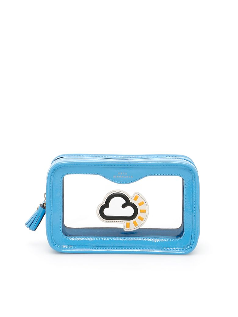 ANYA HINDMARCH RAINY DAY WEATHER MAKE UP POUCH