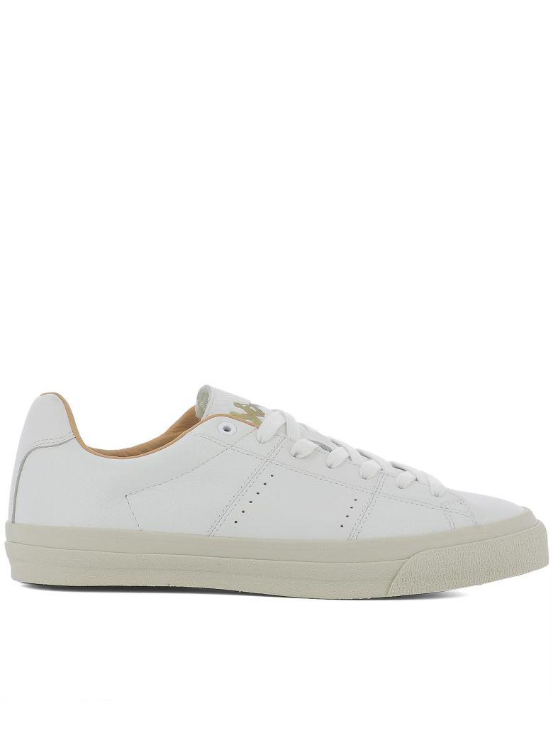 KAPPA Like No Other Sneakers, White-Orange