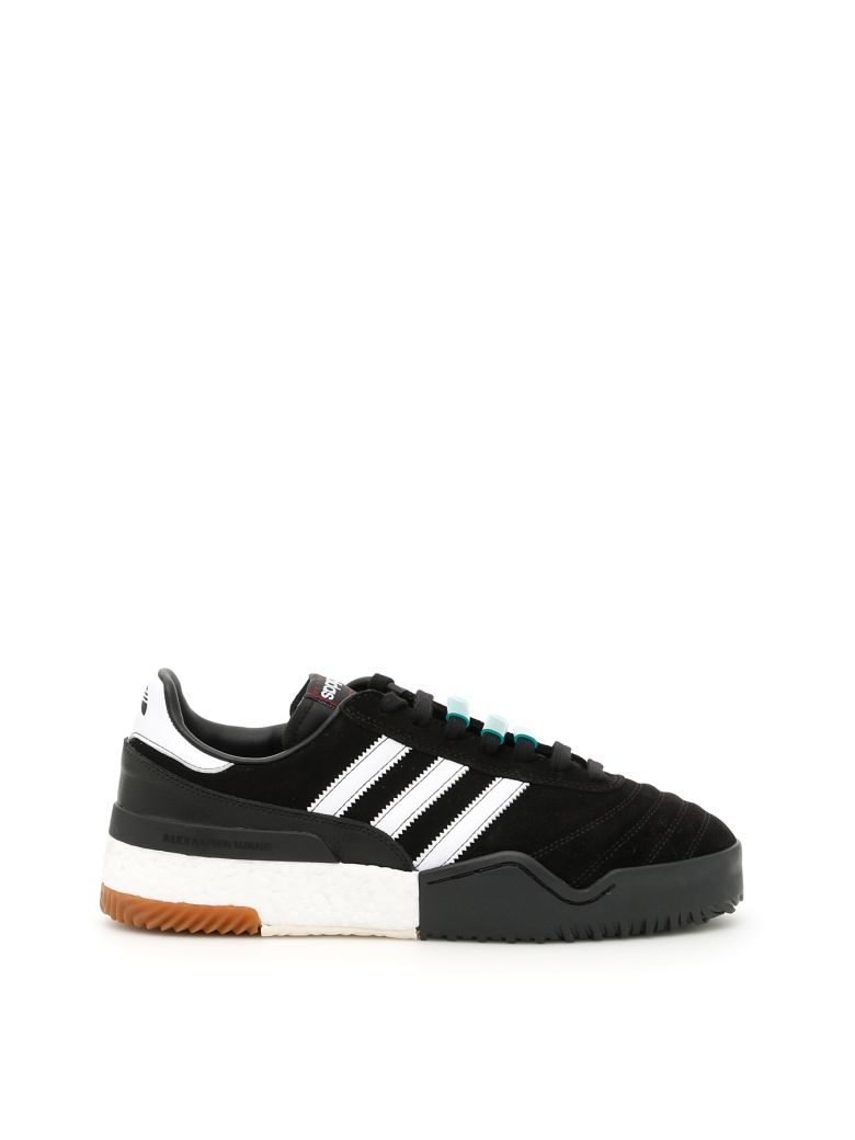 Adidas By Alexander Wang Basketball Soccer Sneakers In Black, Black Wht Blacknero