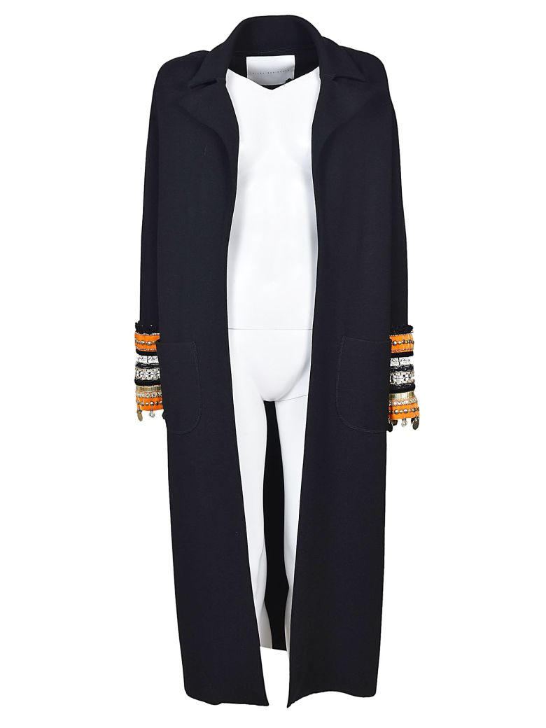 EMBROIDERED CUFFS COAT