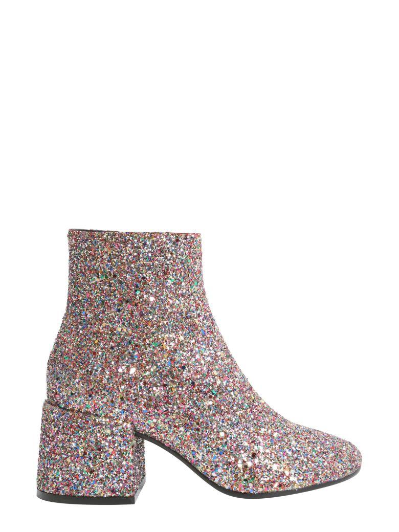 Glitter Bootie, Multicolor Glitter