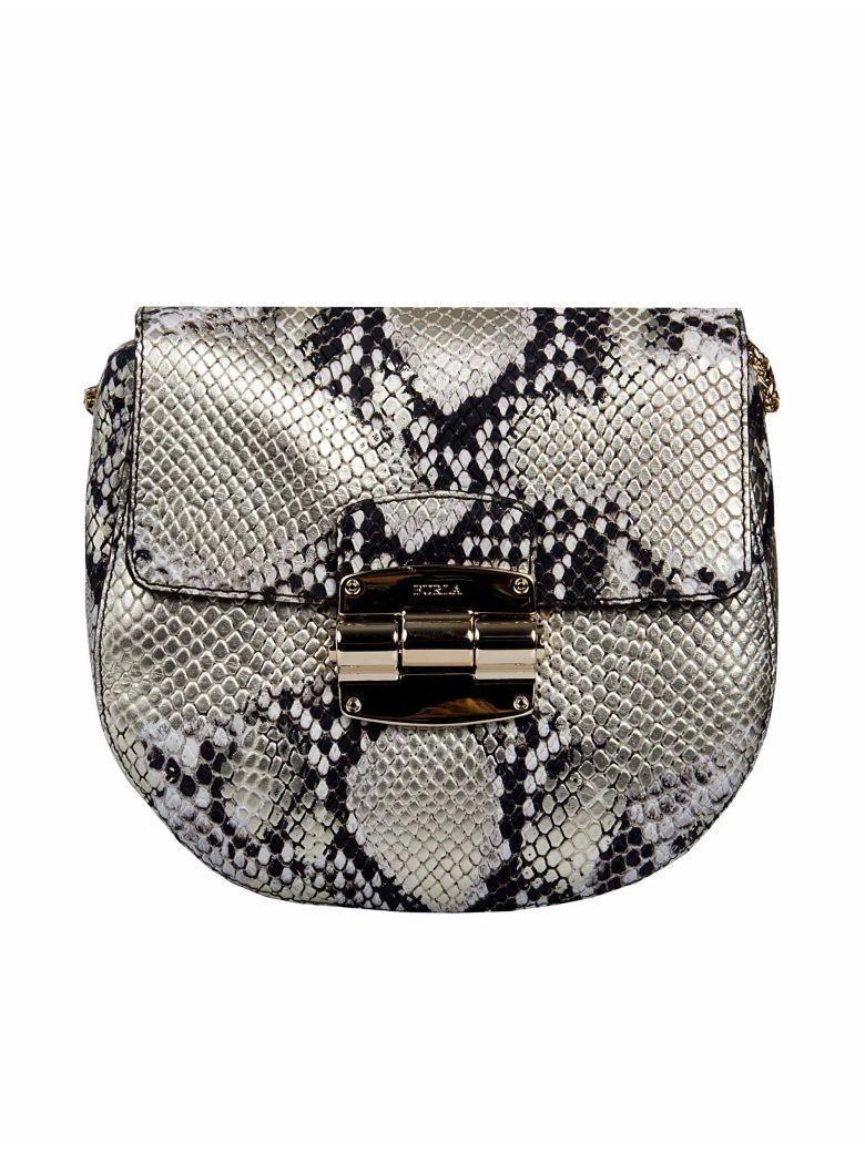 Furla Club Crossbody Bag In Metallic Modesens Brown