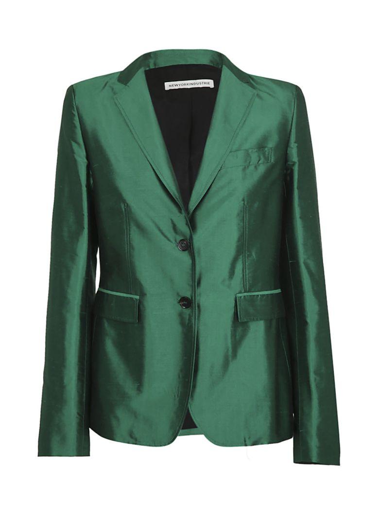 NEWYORKINDUSTRIE New York Industrie Classic Blazer in Green