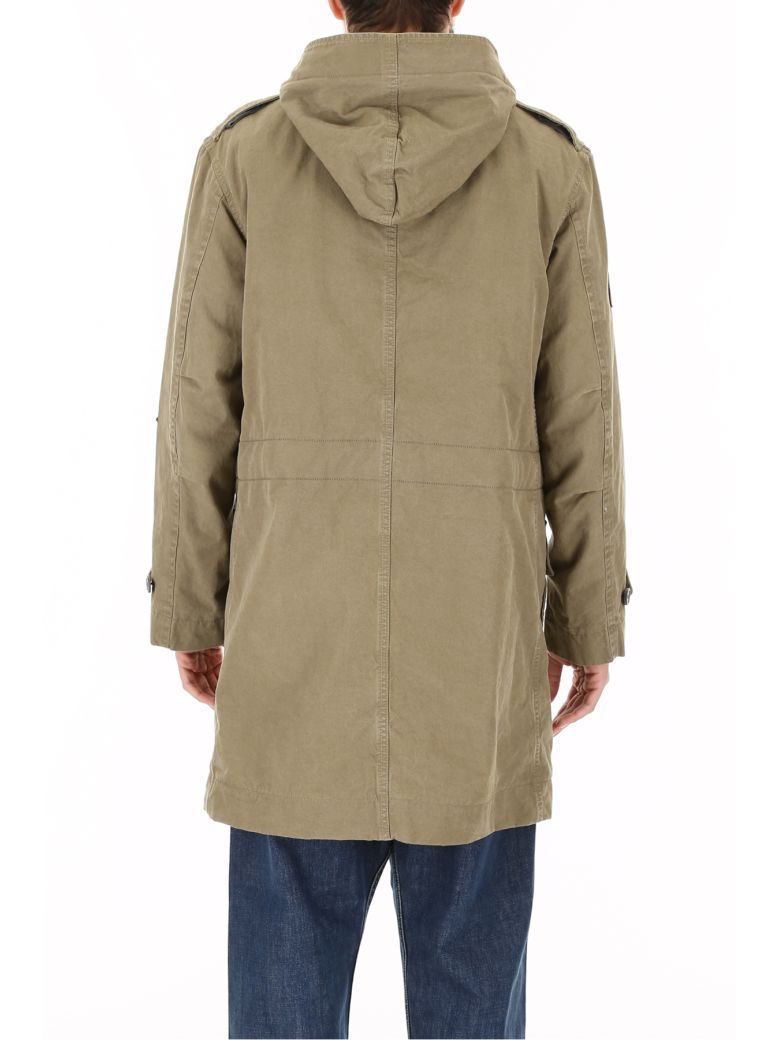 Cotton-twill Blouson Jacket - SandLanvin