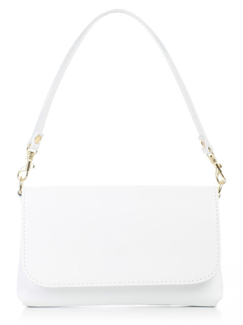ALMALA Shoulder Bag in White