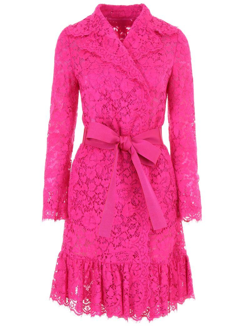 Cordonetto Lace Coat, Rosa Shockingfuxia