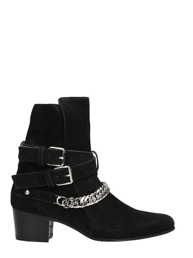 BUCKLE CHAIN BOOT