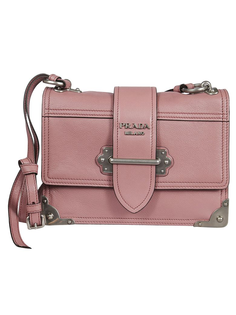 4878b531dd68 sale prada womens cahier leather bag pink 1c623 2f94e; coupon code for prada  cahier shoulder bag d3aac 9fe12