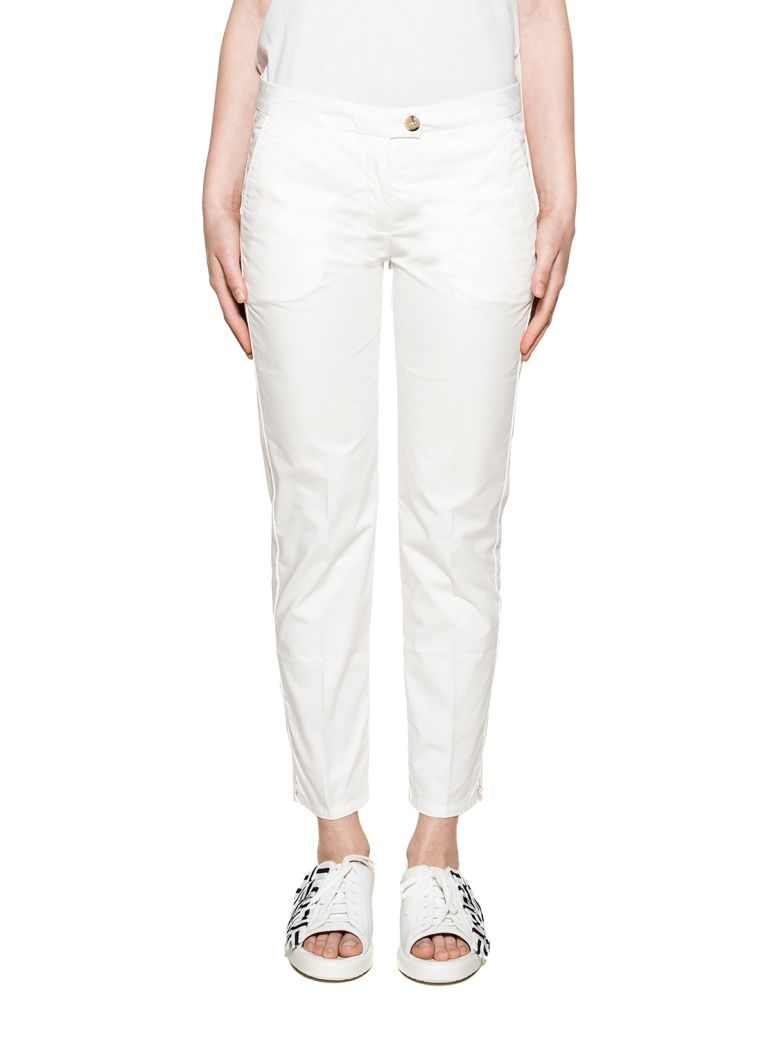 WHITE NEW YORK TROUSERS