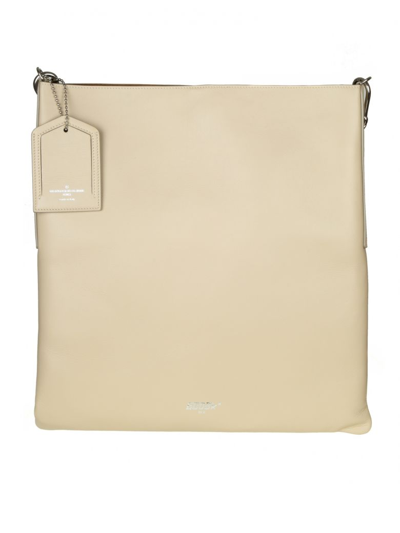 SHOPPING BAG HOBO IN LEATHER COLOR SAND