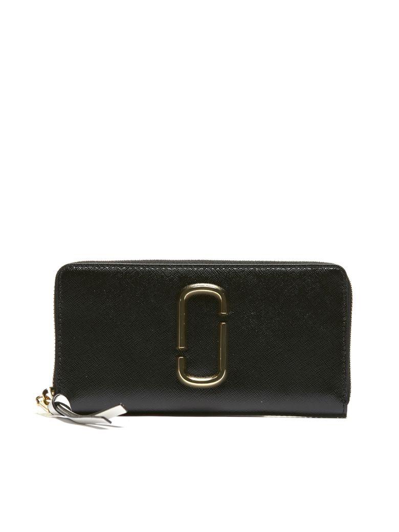 Marc Jacobs Snapshot Continental Wallet - Black