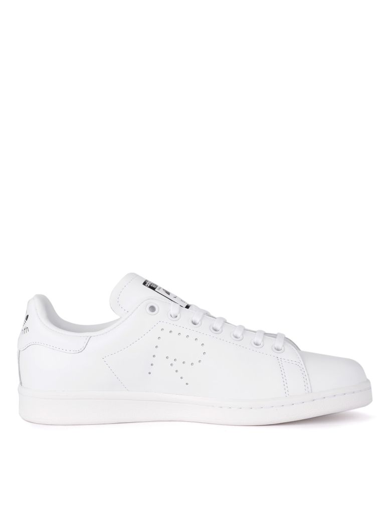 differently fe392 400c7 italist   Best price in the market for Raf Simons Sneaker Adidas By Raf  Simons Stan Smith In Pelle Bianca - BIANCO - 10722246   italist