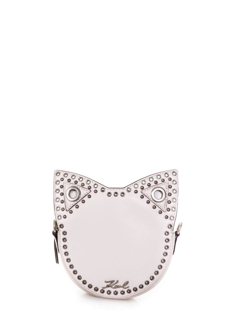Karl Lagerfeld Rocky Plaster Faux Leather Bag