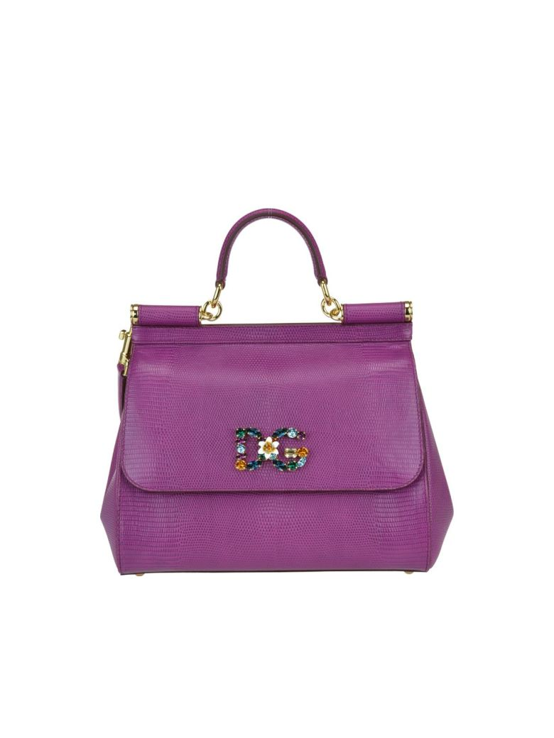 Medium Leather Sicily Bag