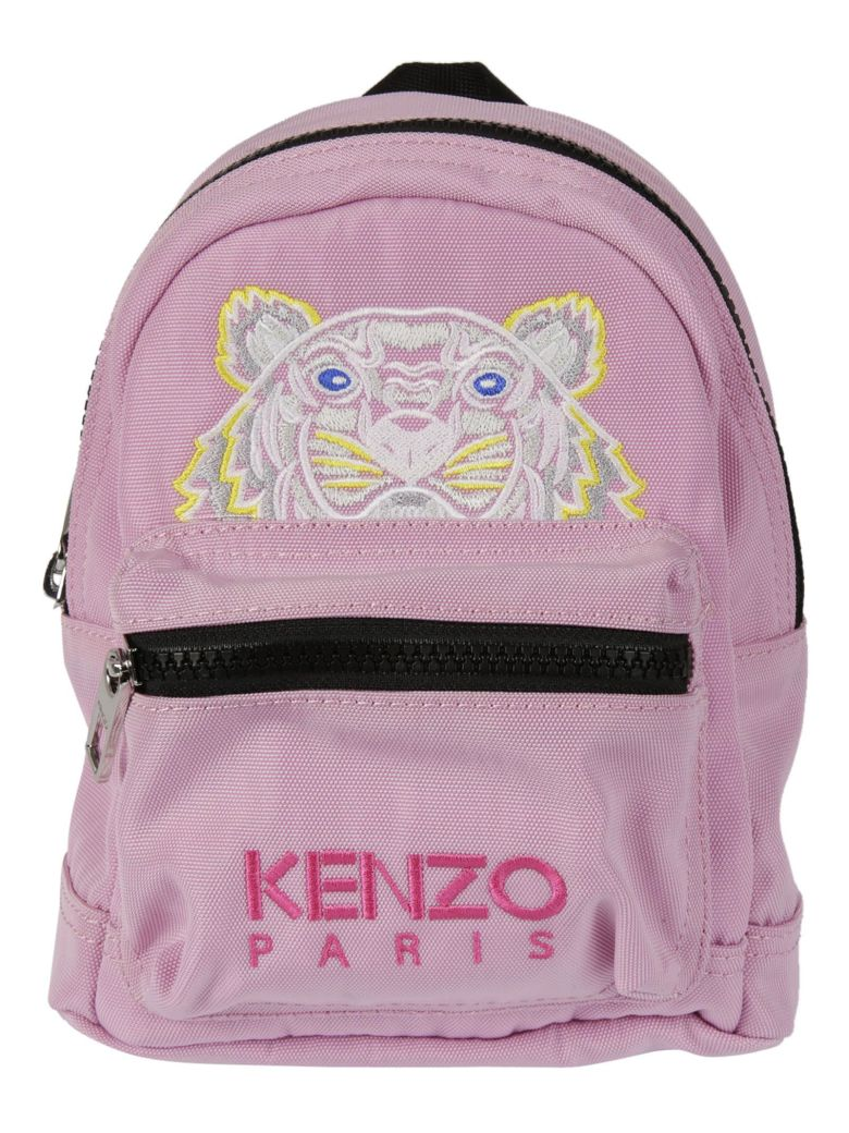 FLAMINGO PINK CANVAS MEDIUM TIGER BACKPACK