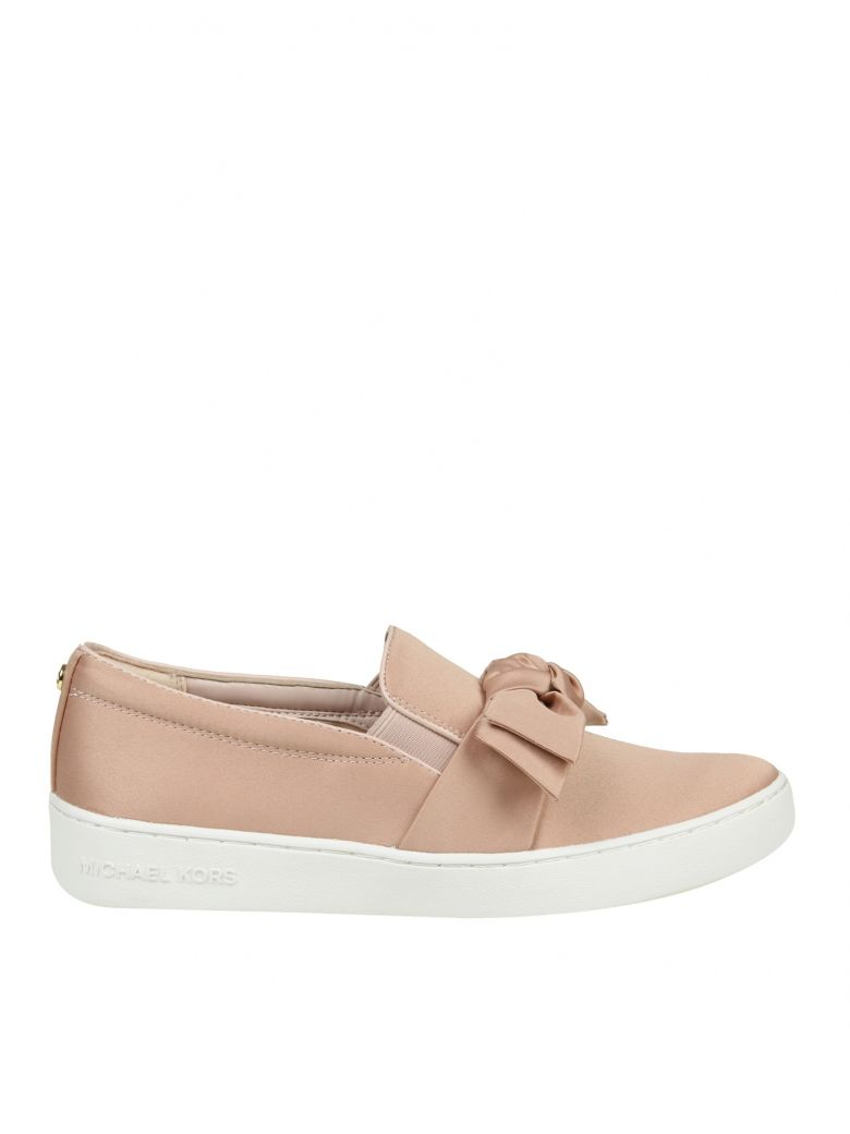 SLIP ON WILLA IN SATIN PINK