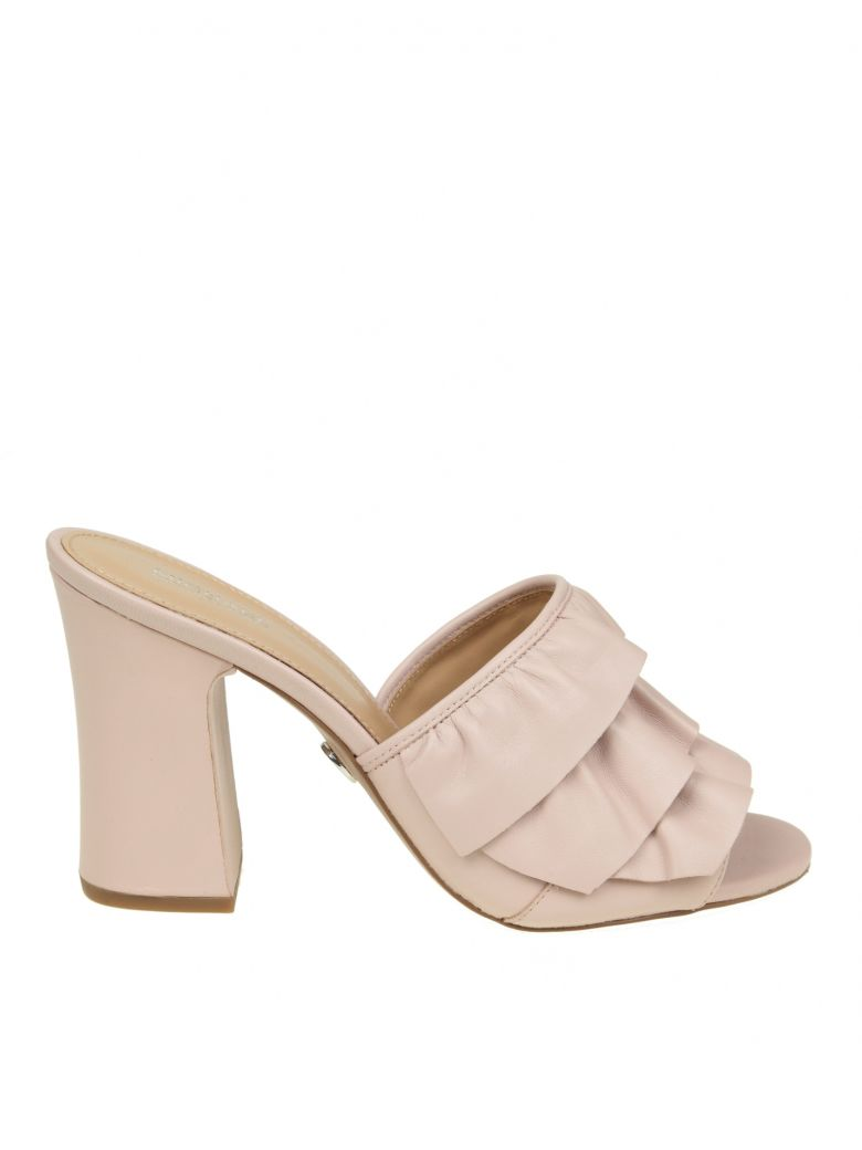 SABOT BELLA MULE IN PINK LEATHER