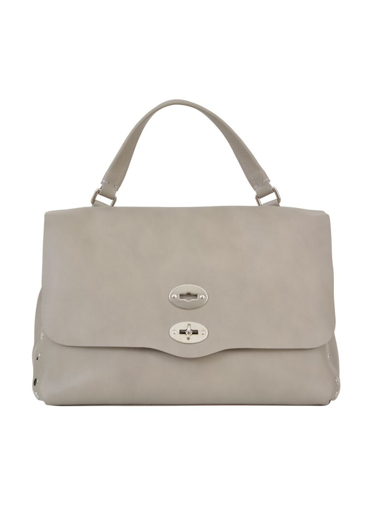 Shoulder Bag for Women On Sale, Grey, Leather, 2017, one size Zanellato