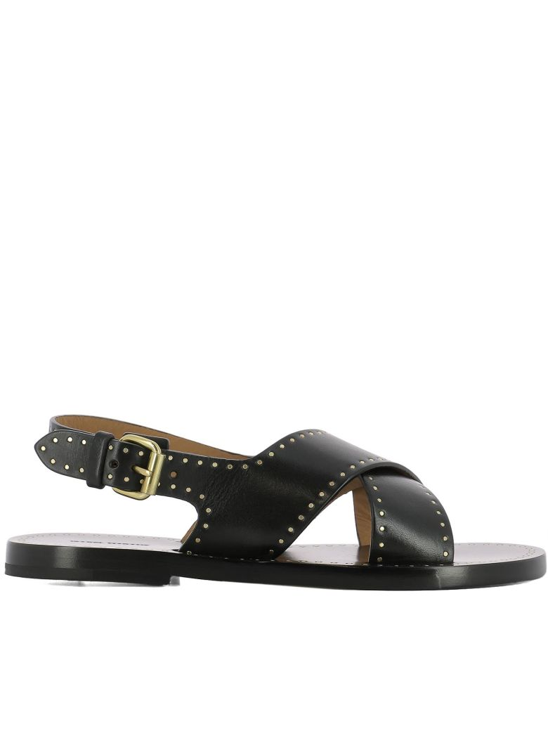 WOMEN'S LEATHER SANDALS  JANE