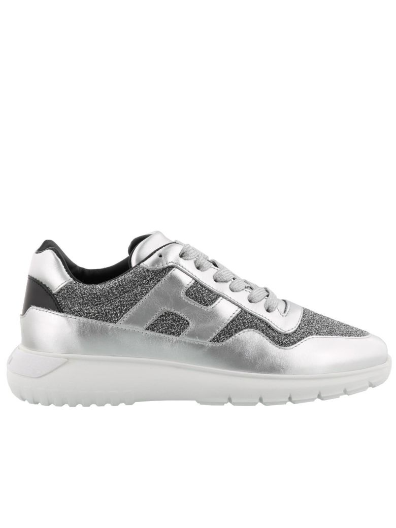 H371 Interactive3 Sneakers, Silver/ White