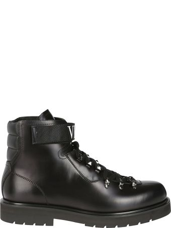 Valentino Vltn Lace-up Boots