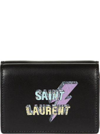 Saint Laurent  Clair Bi-fold Wallet