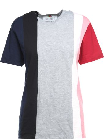 Cedric Charlier Striped Cotton-jersey T-shirt Fruit Of The Loom X Cedric Charlier