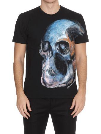 Alexander McQueen T-shirt Painted Skull
