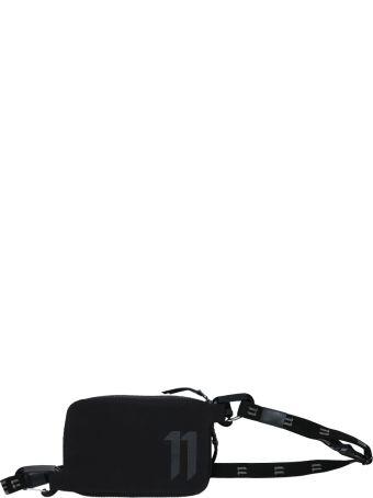 11 by Boris Bidjan Saberi Black Zip-around Travel Pouch