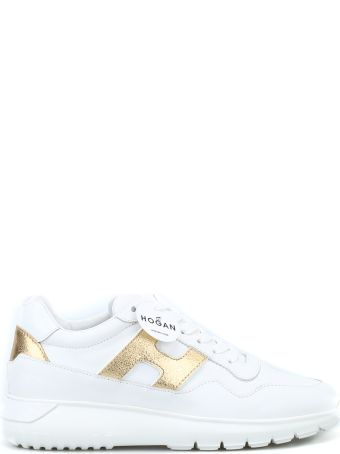 Hogan Interactive³ White Leather Sneakers